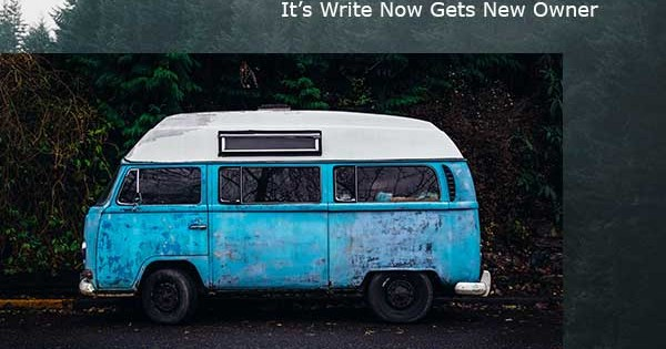 It's Write Now Has A New Owner