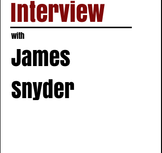 Author interview with James Snyder of 'Desolation Run'