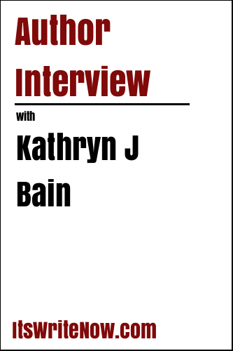 Author interview with Kathryn J Bain of 'A Touch of Suspense'