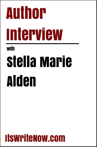 Author interview with Stella Marie Alden