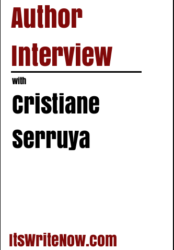 Author interview with Cristiane Serruya of 'Love Painted in Red'