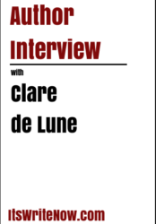 Author interview with Clare de Lune of 'What Lies Within'