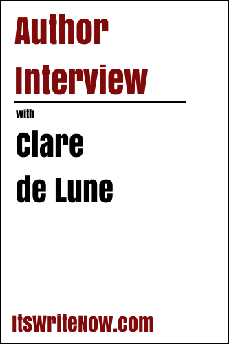 Author Interview with Clare de Lune