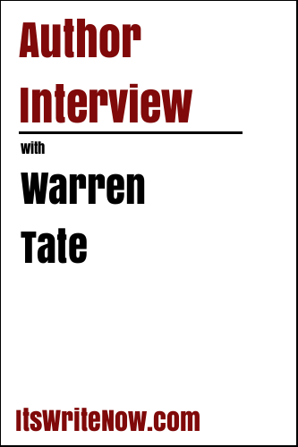Author Interview with Warren Tate