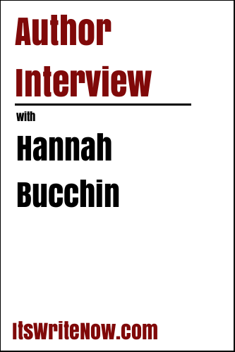 Author interview with Hannah Bucchin of 'Paintbrush'