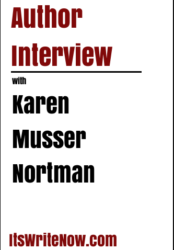 Author interview with Karen Musser Nortman of 'The Time Travel Trailer'