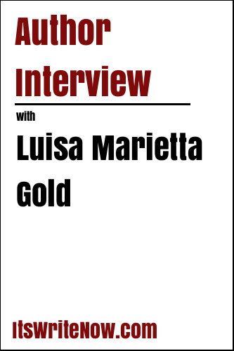 Author interview with Luisa Marietta Gold of 'Escape to Osprey Cove'
