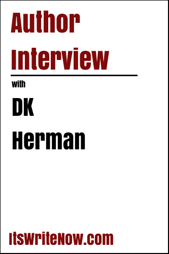 Author interview with DK Herman of 'Down Colder: A Hallie James Mystery, Book 3'