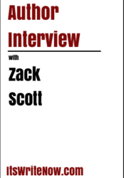 Author interview with Zack Scott of 'One Pissed-Off Shark'