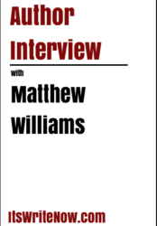 Author interview with Matthew Williams of 'The Cronian Incident'