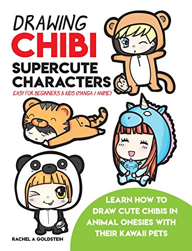 Drawing Chibi Supercute Characters Easy for Beginners & Kids Book Cover