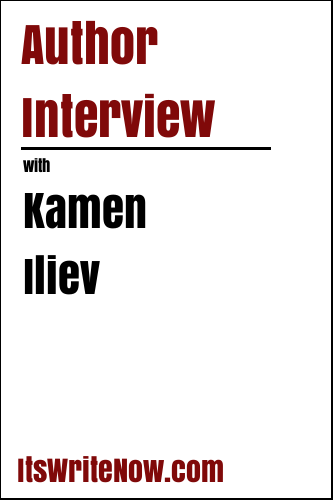 Author Interview with Kamen Iliev