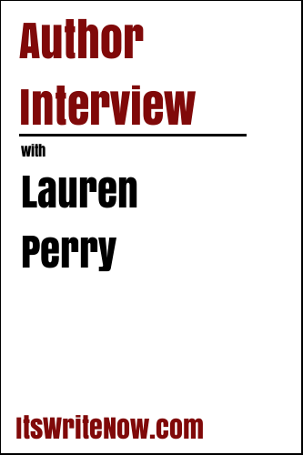 Author interview with Lauren Perry of 'Gold Shadow'
