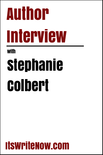 Author Interview with Stephanie Colbert