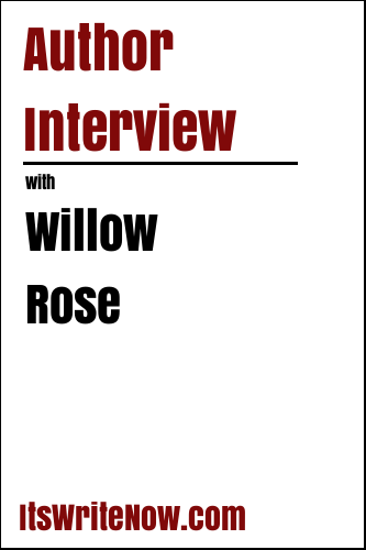 Author Interview with Willow Rose