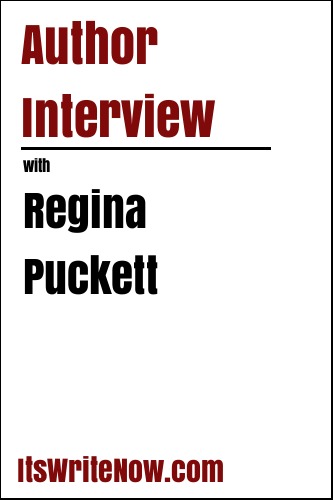Author interview with Regina Puckett of 'I Close My Eyes'