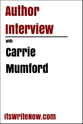 Author interview with Carrie Mumford