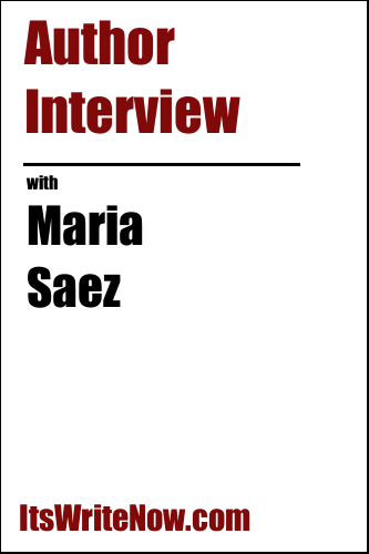 Author Interview with Maria Saez