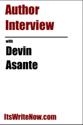 Author interview with DEVIN ASANTE of 'THE BURNING'