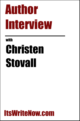 Author interview with Christen Stovall of 'Soulbound'