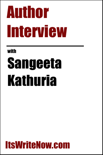 Author interview with Sangeeta Kathuria of 'The Scarlet Promise'