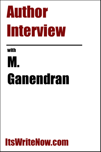 Author interview with M. Ganendran of 'The Porcelain Cat: A Detective Amarnath Mystery'