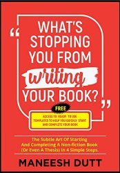What's Stopping You From Writing Your Book