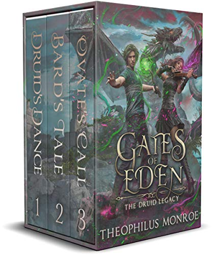 Gates of Eden: The Druid Legacy Boxed Set (Books 1-3): An Arthurian Modern Fantasy - ASIN B08963SXMZ